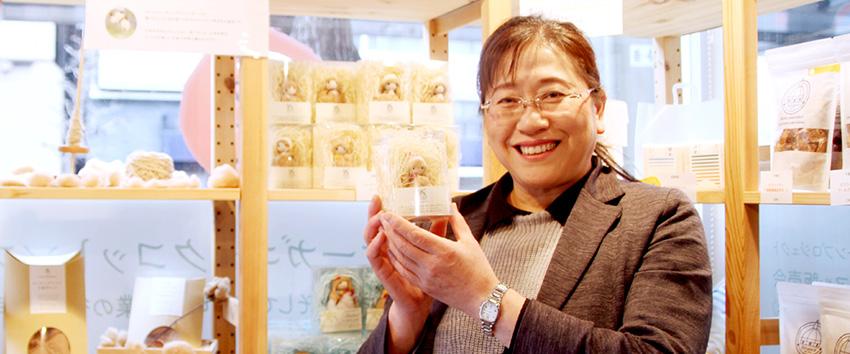 福島のオーガニックコットンから未来を紡ぐ「ザ・ピープル代表 吉田恵美子さん」