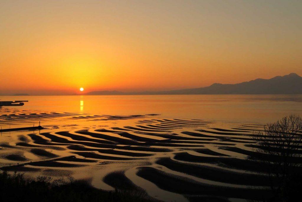 有明海を臨む「熊本県宇土市」自然と共につくるふるさとの景色