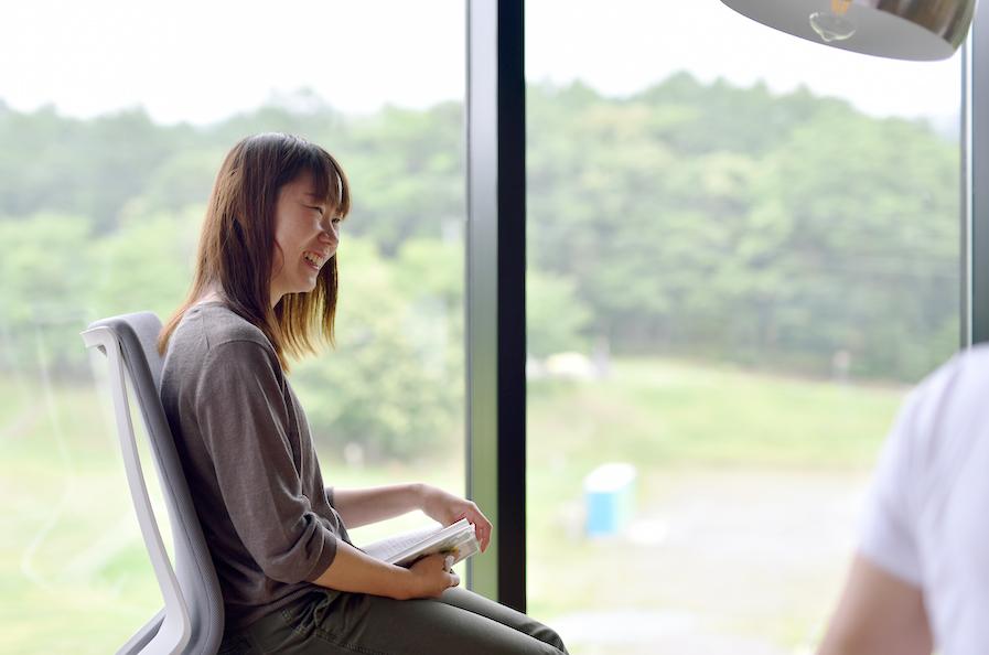長野県信濃町に移住し、美しい景色と新たな挑戦を楽しむ「さとゆめ長野支社 小菅 千絵」